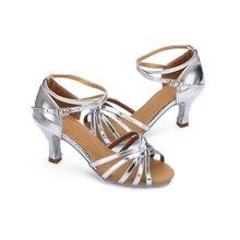 LUCYLEYTE Girls/Women's Ballroom Latin&Tango Dance Shoes heeled Sale Promotion Wholesale 5cm 7cm high heels for latian shoes