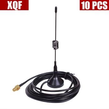10PCS  Mini SMA-F Magnetic Car Antenna Dual Band VHF/UHF 136-430MHz for  UV-5R UV-5RA UV-5RE UV-B5 UV-82 BF-888S Two Way Radio