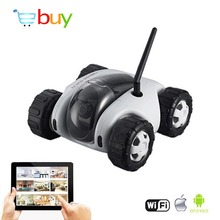 App FPV Wifi Controlled RC Tank Cloud Rover Remote Control Robot with 720P HD Camera Real-time VR RC Car Toys Wireless Recharge