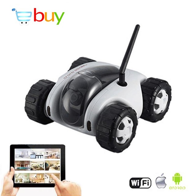 App Fpv Wifi Controlled Rc Tank Cloud Rover Remote Control Robot