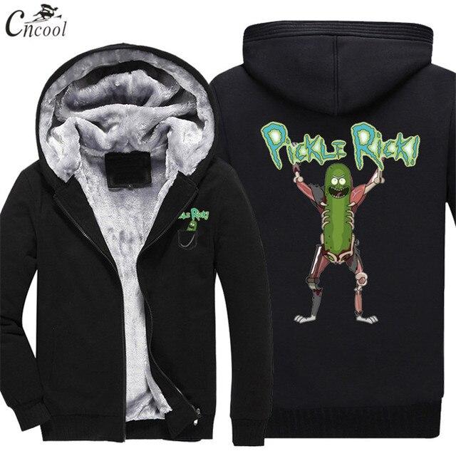 bastante agradable 29dd4 d2a33 € 26.06 |2019 de moda Hip hop Rick y morty sudaderas con capucha de dibujos  animados impreso sudaderas con capucha suéter con capucha de invierno ...
