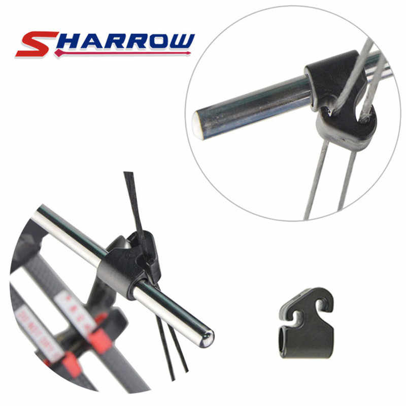 1 pz SHARROW di Gomma Nero TP141 Split Shaft Cursore Arco per Uso Adulto