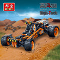 Hitech banbao bloques de construcción de juguetes educativos para niños regalos para niños mini city cars pegatinas cazador de viento off-road