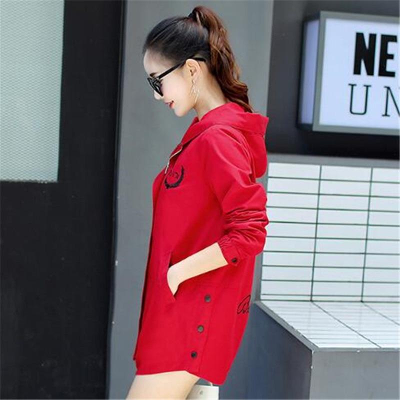 E508 2019 Femmes Casual Vêtements Trench Long Mode Printemps Coupe vent  Nouveau red Automne Tnlnzhyn Manteau À Moyen ... 528d759746c