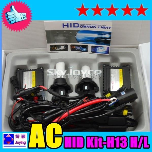 2016 New 55W H4 hi/lo hid xenon kit 4300K -12000K fast bright H4 9004 9007 H13 xenon kit high low beam hid xenon headlight