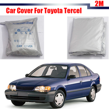 Outdoor Car Cover Anti UV Vehicle Sun Rain Snow Resistant Protector Cover Sun Shade Dustproof For Toyota Tercel