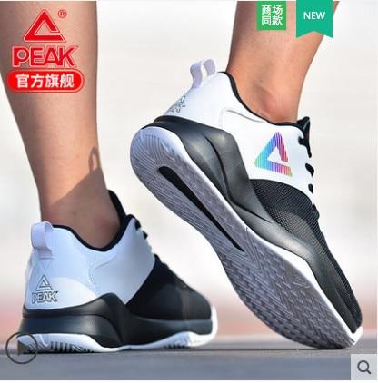 Пик 2018 летняя новая баскетбольная обувь дышащие кроссовки легкие амортизирующие туфли
