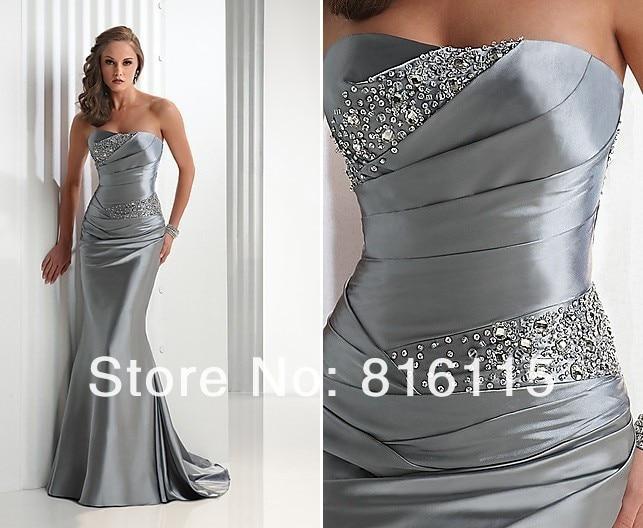 Big Sale Send Fast Delivery Floor Length Mermaid Evening Dress ...