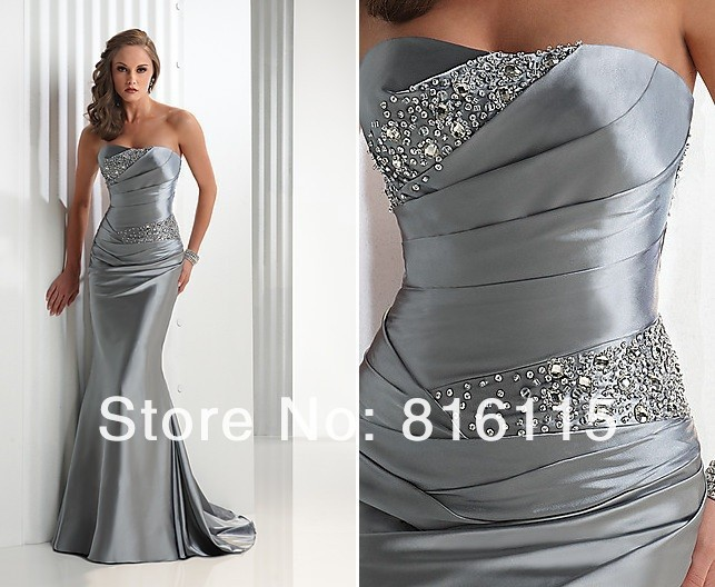Online Get Cheap Silver Prom Dresses -Aliexpress.com | Alibaba Group