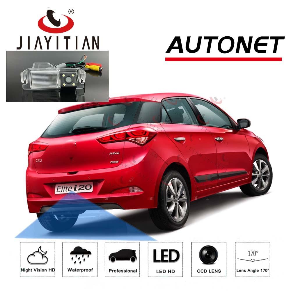 JiaYiTian Rear View Camera For Hyundai Elite I20 2009~2018 CCD Night Vision Backup Parking Reversing Camera License Plate Camera
