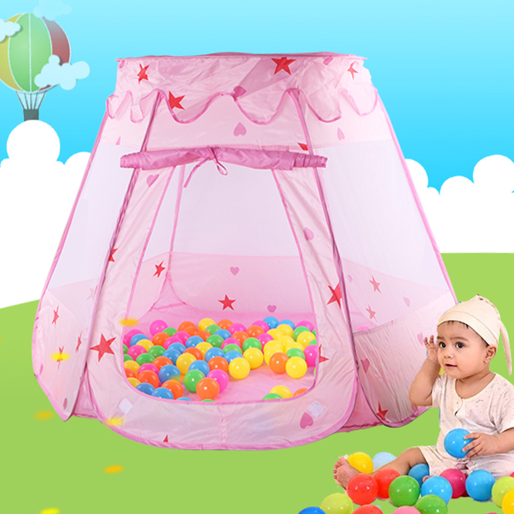 Foster Imaginative and Creative Play This Adorable fairy house playhut tent can inspire childrens imagination Cultivate childrenu0027s social skillsPromote ...  sc 1 st  AliExpress.com & Kids Ocean Ball Pit Pool Toys Fairy House Playhut Tent Baby Toy ...