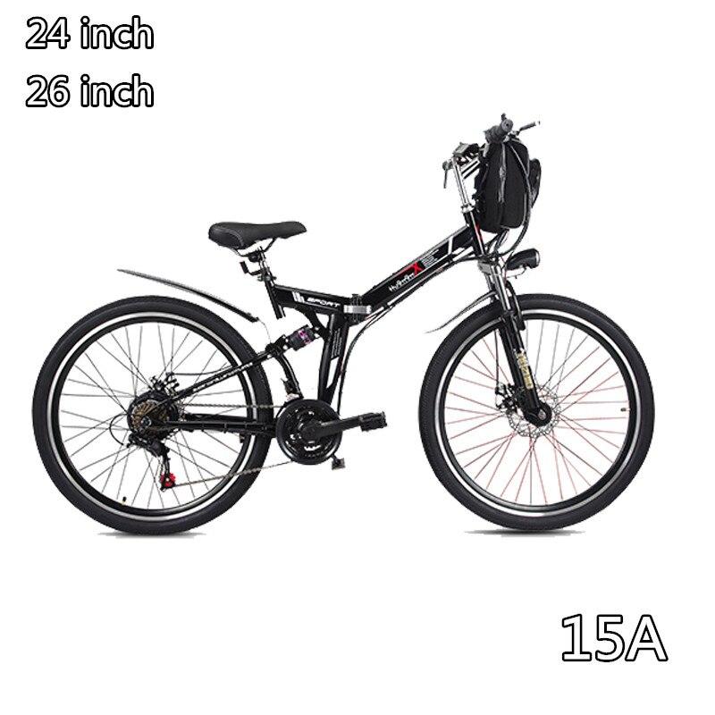 48 v vélo électrique pliant e-bike de Montagne