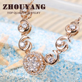 Top Quality ZYN311 Noble Crystal  Gold Plated Fashion Pendant Jewelry Made with Austria Crystal  Wholesale