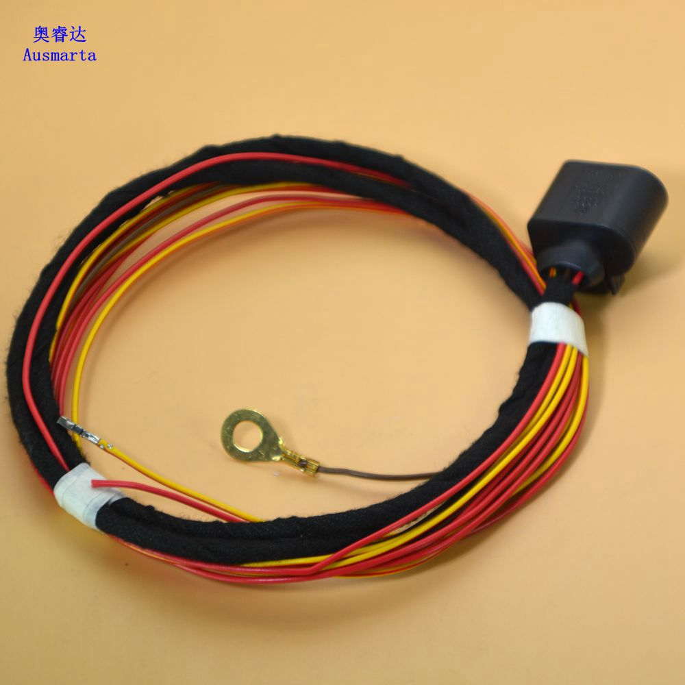 1 Pcs Electronic alarm horn wiring harness For VW GTI Passat Touareg A4 A5 A6 A7 aliexpress com buy 1 pcs electronic alarm horn wiring harness Dune Buggy Wiring Harness Kit at cos-gaming.co