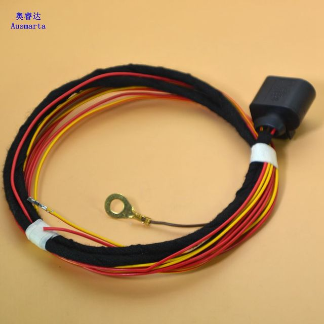 1 Pcs Electronic alarm horn wiring harness For VW GTI Passat Touareg A4 A5 A6 A7_640x640 aliexpress com buy 1 pcs electronic alarm horn wiring harness horn wiring harness at fashall.co