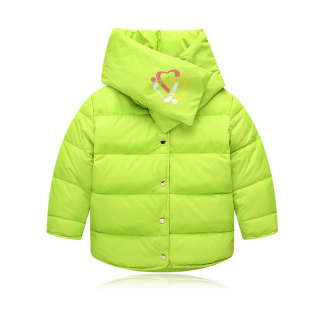 2017 Brand New Girls Boys Winter Coats Down Fashion White Duck Down Children Coats Shawl Collar Girls Warm Outerwear YY2079