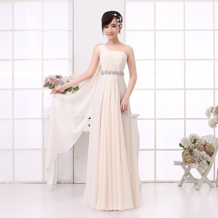 Free shipping chiffon   bridesmaid     dress   and diamond waist national costume pink / mint green / white / red