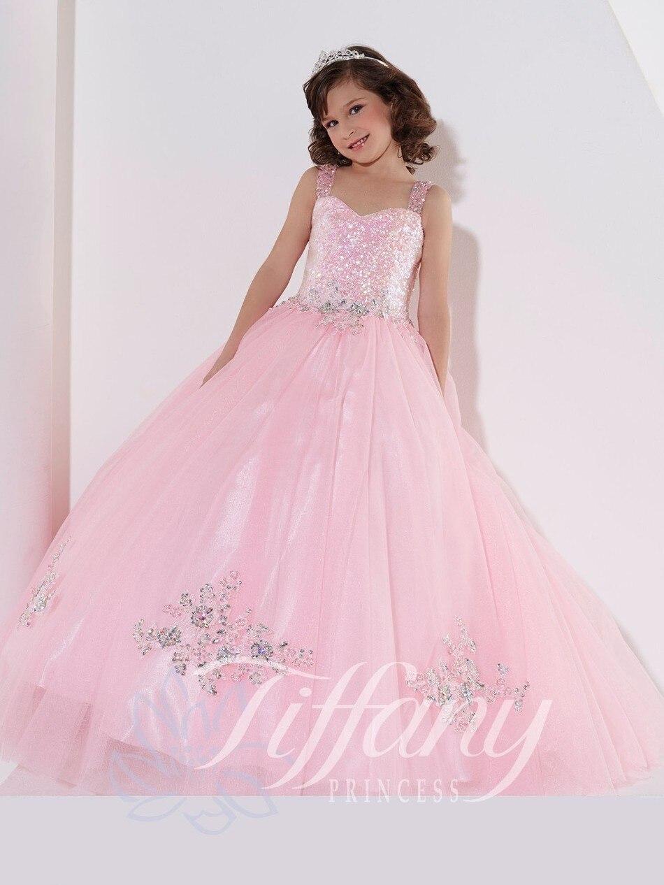 Nueva Llegada vestido de los niños y niñas de las flores vestidos de ...
