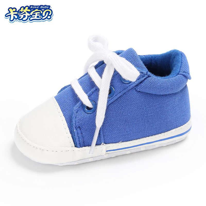 Baby toddler First Walkers shoes newborn Girl Boy sneakers Fashion leisure soft bottom canvas shoes 0