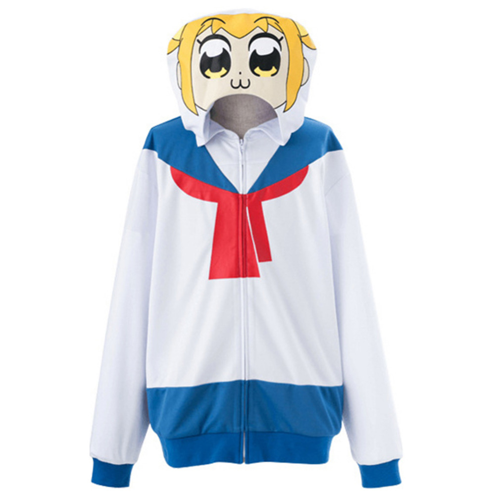 Poputepipikku Cosplay Costumes Popuko Cosplay Pipimi Costume Hoodie Japanese Sailor suit School Uniform