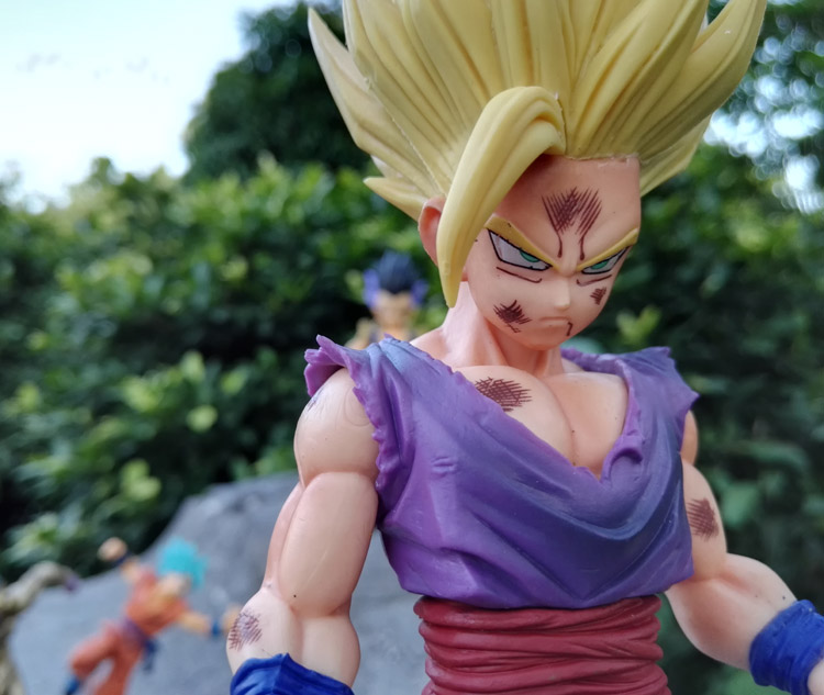 Anime Dragon Ball Z MSP Son Gohan Master Stars Piece 24cm New dbz Action Figures Dragonball Collectible Model Toy For Collection