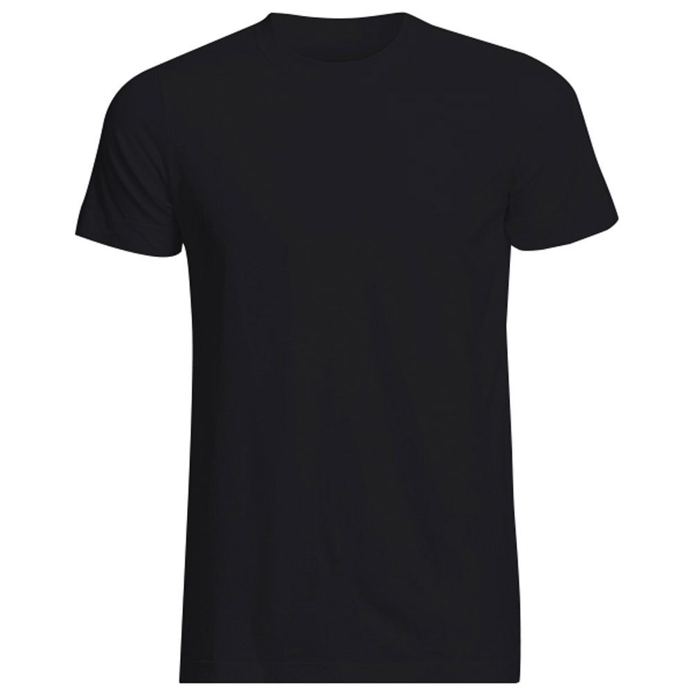 Blank black t shirt front and back - Black T Shirt Blank Online Shop Wholesale Euro Size Solid T Shirts Men Cotton Blank