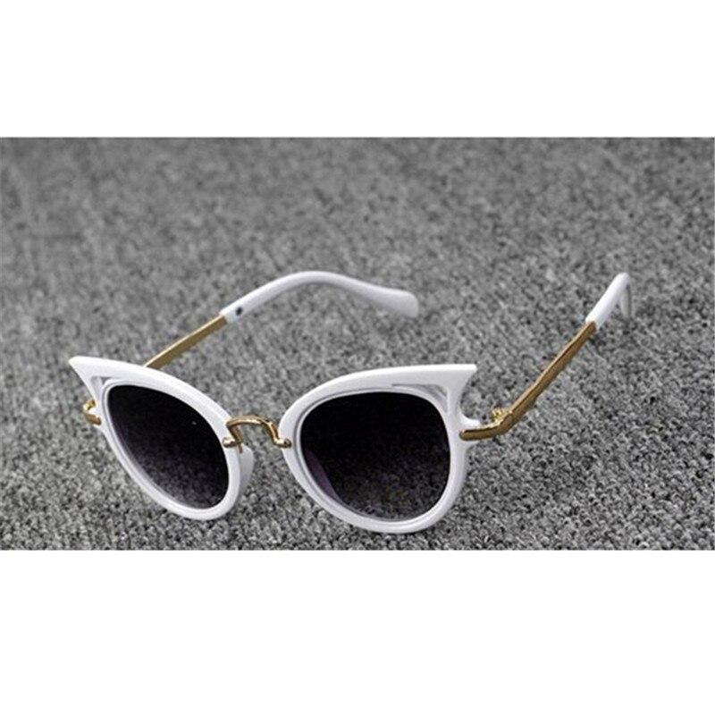 iboode Cat Eye Brand Designer Sunglasses for Children Fashion Girl Boy Cute Sun