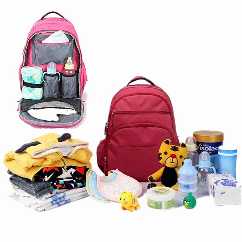 Large capacity Baby nappy bags diaper bag Fashion mummy maternity nappy bag Multifunctional mummy backpack for baby care bag D25