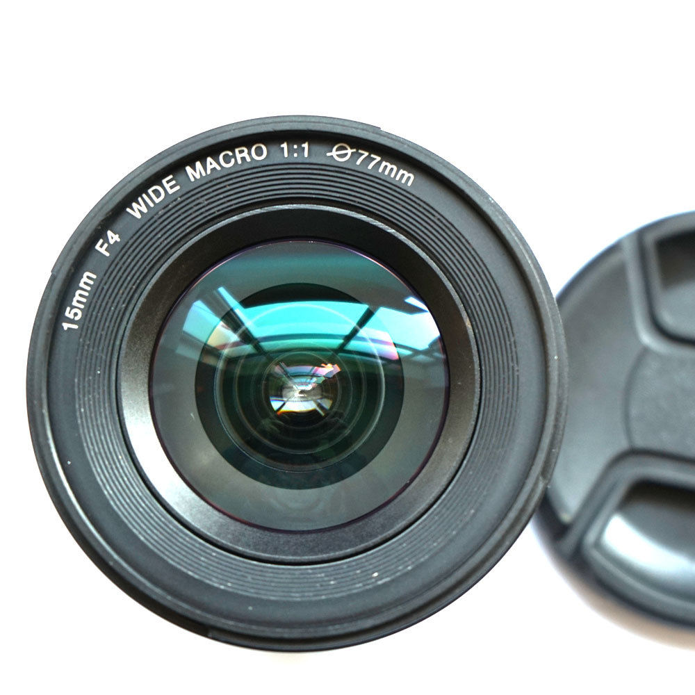 JINTU 15mm f/4.0 F4 Wide Angle Macro Fisheye Lens For Canon EF DSLR FULL Frame APS-C Camera 4