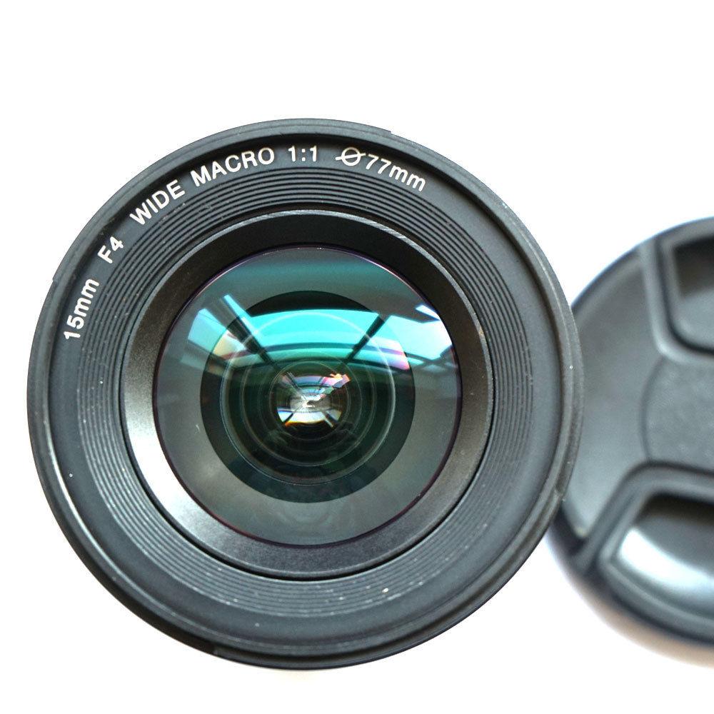 JINTU 15mm f/4.0 F4 Wide Angle Macro Fisheye Lens For NIKON DSLR Camera D7100 D7000 D5100 D50 D3400 D30 D90 D80 4