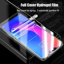 Curved Soft Hydrogel Film For Xiaomi Mi 9 8 Lite Mix 3 Max PocoPhone F1 Screen Protector Redmi Note 7 6 5 Pro