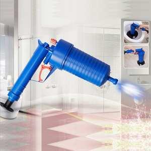 Cleaner-Pump Blaster-Gun Opener Sink Plunger Air-Power-Drain High-Pressure Bath-Toilets