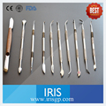 10 Pieces/lot Dental Lab Equipment Wax Knife Tools Ten Sets Surgical Dentist Sculpture Carving Instruments Tool Kit