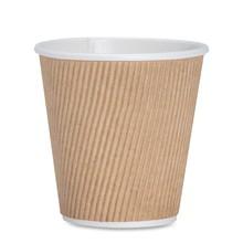 50 пачек 8/12 унций бумажные стаканчики белые одноразовые белые Горячие Кофе бумажные стаканчики стекло из органического картона одноразовые