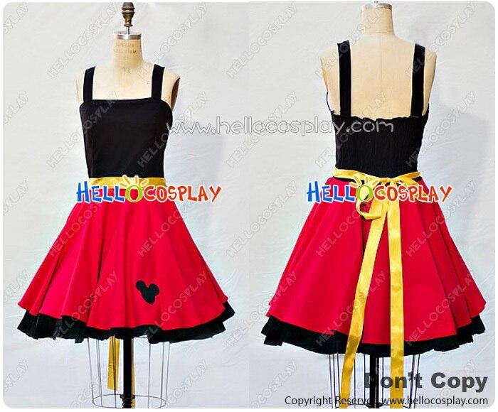 Cosplay monsieur souris Costume rétro Style robe H008