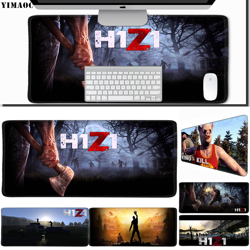 Initiative Yimaoc 30*60 Cm Large Mouse Pad Gamer Mousepad Rubber Gaming Desk Mat With Locking Edge H1z1 Cheapest Price From Our Site Mouse & Keyboards