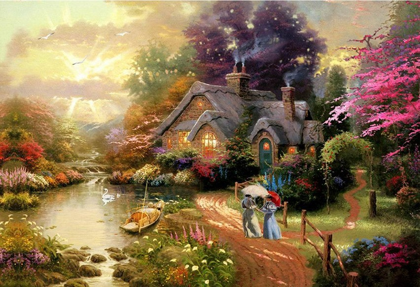 Diamond Embroidery Landscape Diamond Kit Diamond Painting Full Square Picture Rh