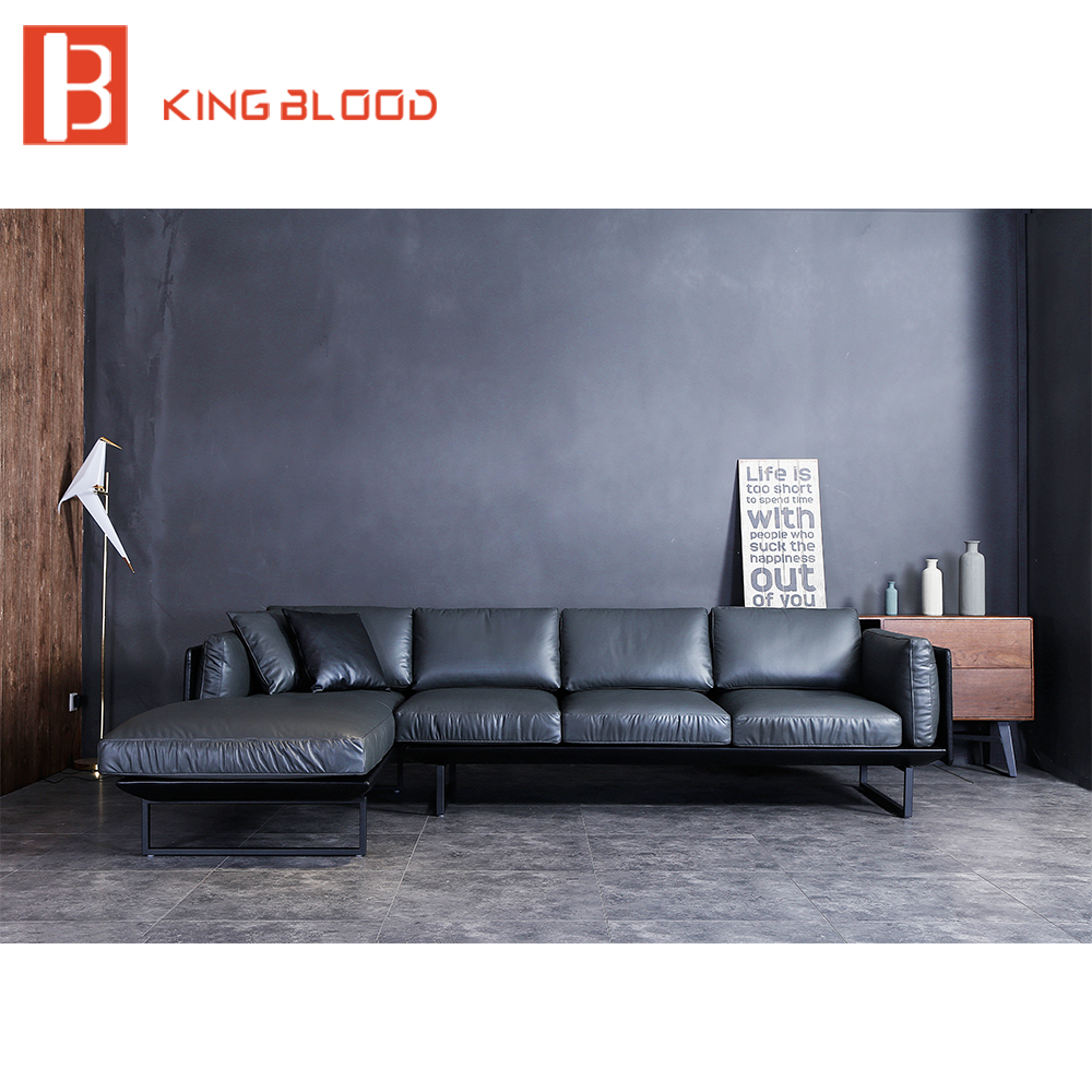 US $2200.0 |sofa set american genuine leather designs small corner sofa-in  Living Room Sofas from Furniture on AliExpress