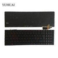 Teclado PARA ASUS nórdico GL552 GL552J GL552JX GL552V GL552VL GL552VW N552VW N552VX G771JM G771JW backlit preto teclado do laptop
