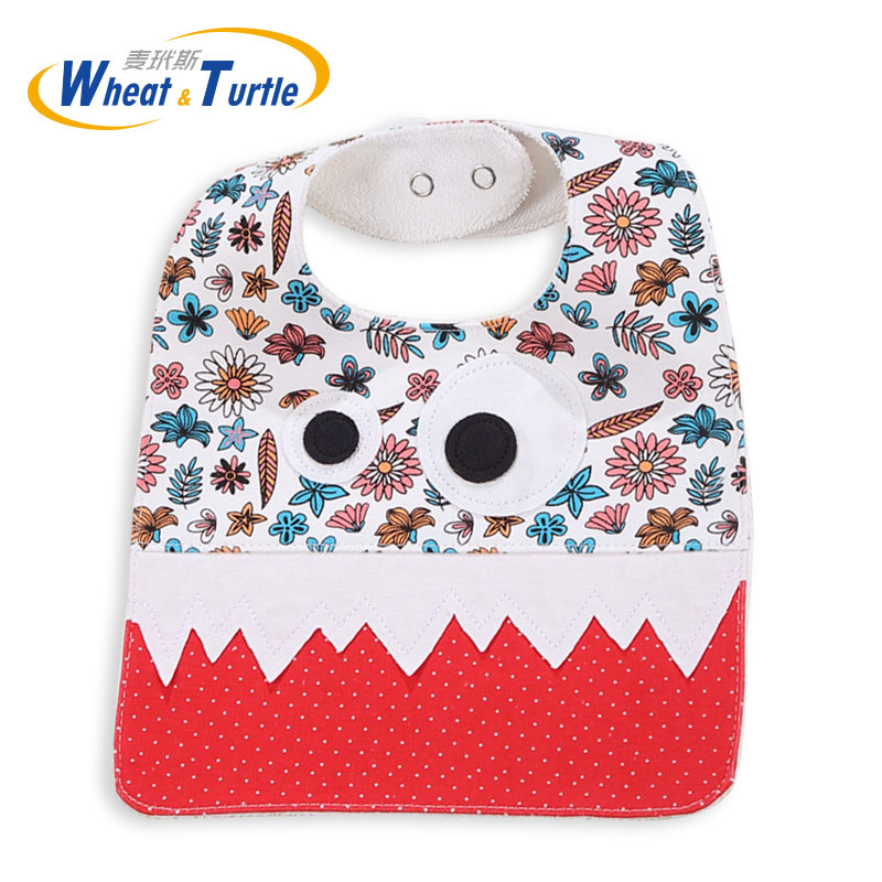 0edfa3c44accd US $4.42 15% OFF|Mother Kids Baby Clothing Accessories Bibs Burp Cloth  Unisex Waterproof Apron Cotton Towel Feeding Bandanas Burp Cloths With  Bow-in ...