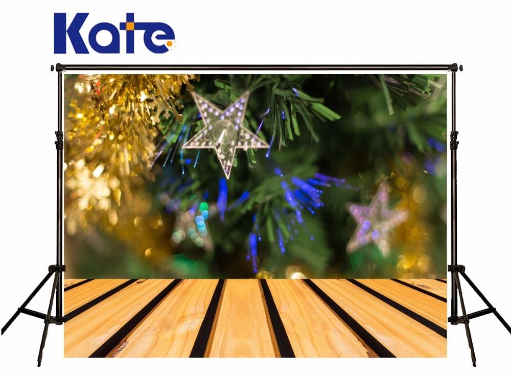 Kate Christmas Backdrop Photograph Christmas Gree Trees Socks Wooden Photo Backdrop For Children Photo Studio Camera Fotografica flame trees of thika