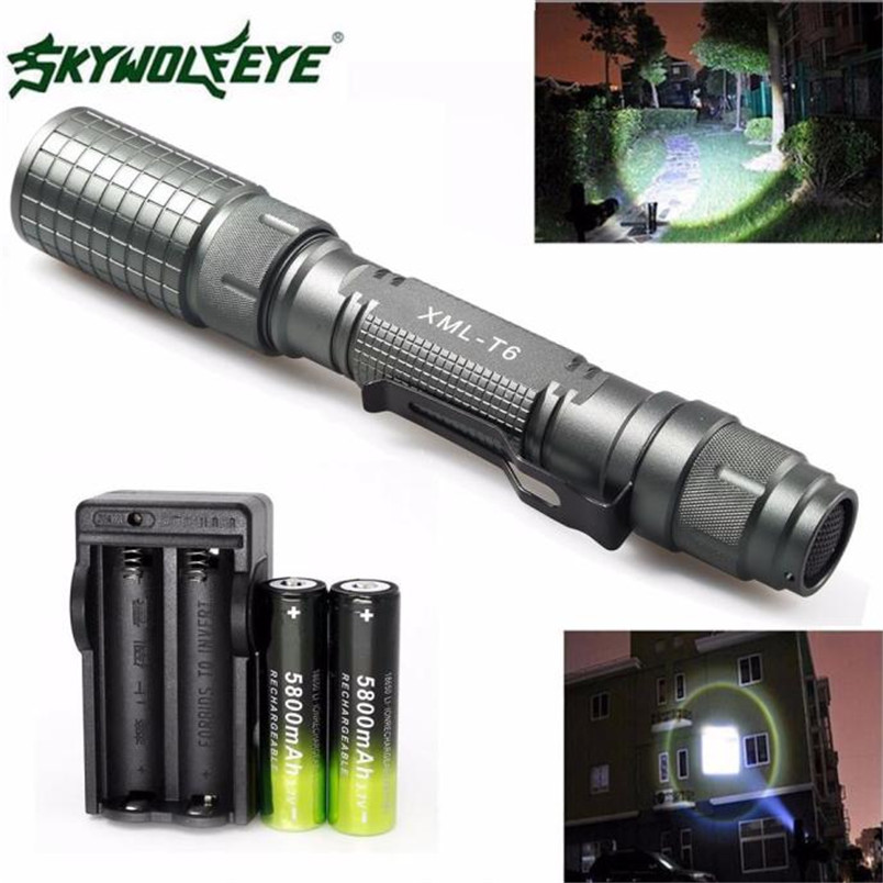 2 Types 4000 LM 5 Modes CREE XML T6 LED Torch Lamp Light AAA 18650 Charger Camping Zoomable Wholesales 2017 NOM29 hot sale 3x cree xml t6 led headlamp bike light 5000 lumen 18650 led head light 4x18650 battery pack charger bike rear light