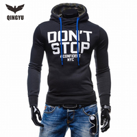 2018 New Fashion Men Brand Hoodies Men Casual Sportswear Man Hoody Long Sleeved Hoodie Sweatshirt Men