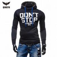 2018 New Fashion Men Brand Hoodies Men Casual Sportswear Man Hoody Long Sleeved Hoodie Sweatshirt Men
