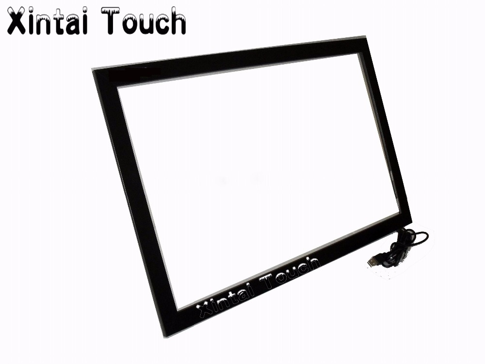 65 inch Multi touch LCD TV touch screen, cheap 10 points