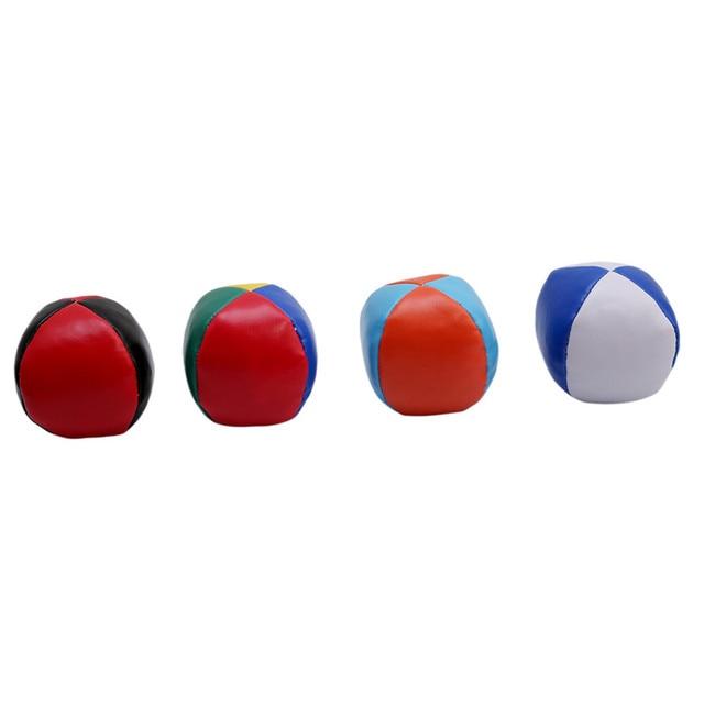 Novo Colorido Bolas de Malabarismo Bolas Definir Diversão Ao Ar Livre Brinquedo Clássico Brinquedo Das Crianças Das Crianças do Saco de Feijão Malabarismo Circo Mágico Iniciante Bolas