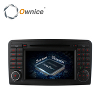 4G SIM LTE Android 6 0 8 Core Car DVD GPS For Mercedes ML Class W164