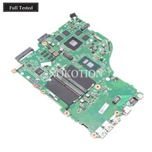 NOKOTION DAZAAMB16E0 NBGDF1100B NB.GDF11.00B For Acer aspire E5-575 E5-575G laptop motherboard SR2ZU I5-7200U CPU GTX950M DDR4