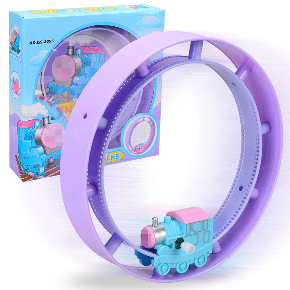 Toy Cars Baby Kids Clockwork Funny Toy Cartoon Train Trunk Chain Roller Educational Toys A1