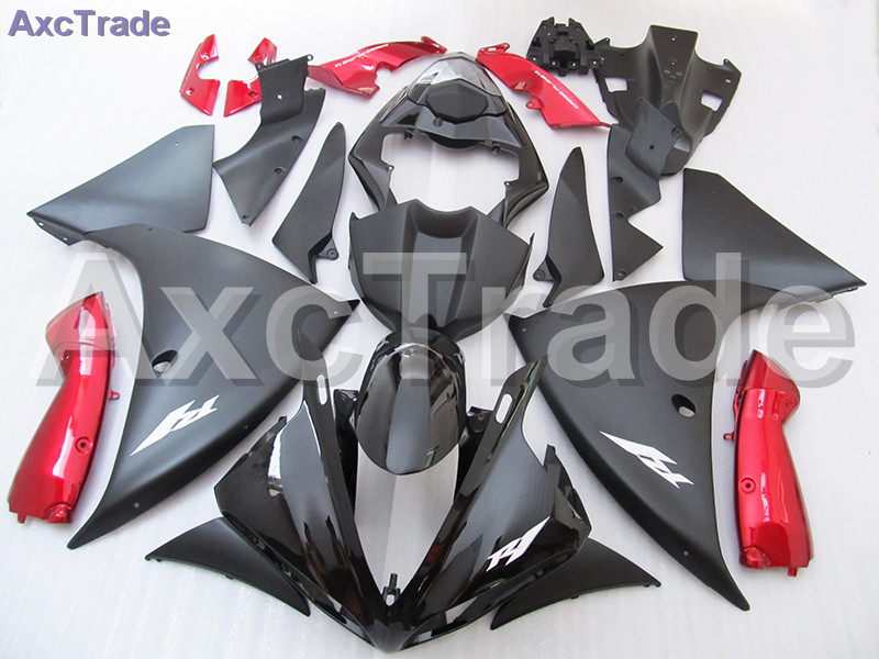 Red Black Moto Fairing Kit For Yamaha YZF R1 1000 YZF-R1 YZF-R1000 2009 2010 2011 Fairings Custom Made Motorcycle Bodywork C731 black moto fairing kit for kawasaki ninja zx14r zx 14r zz r1400 zzr1400 2006 2007 2008 2009 2010 2011 fairings custom made c549